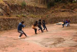 The Game of Tug of War calls for that team work and instantly brings you out of your comfort zone.