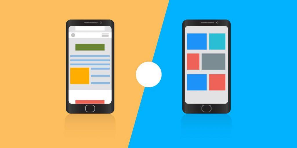 Correlation between Progressive Web App (PWA) and Native App