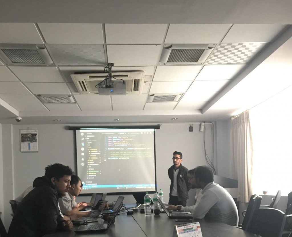 25 days React JS Training conducted by Wolfmatrix