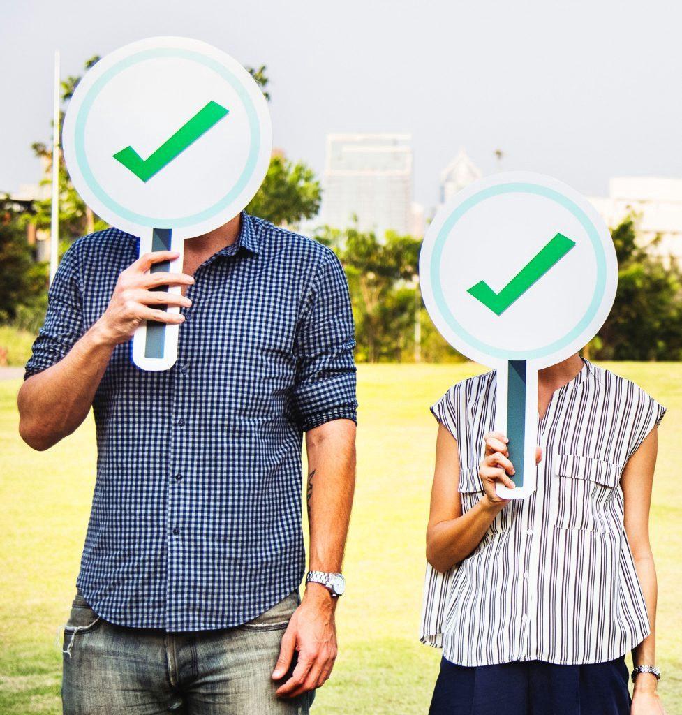 Digital identity-check