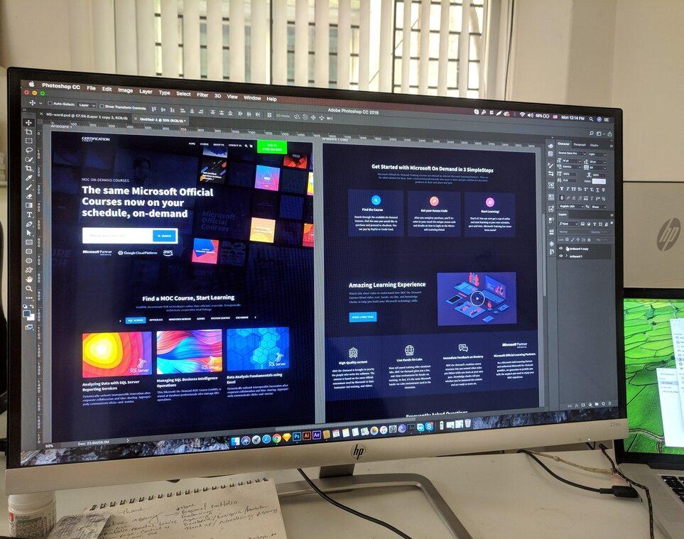 web design UX
