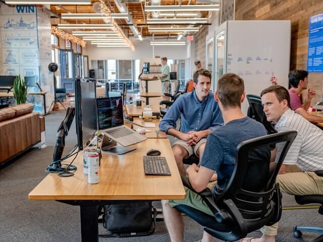 Technical Partners having a open conversation regarding business needs